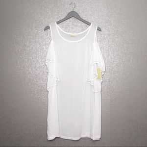 MICHAEL Michael Kors Swim - Michael Kors | Studded COld Shoulder Swim Cover-Up
